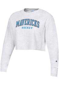 Kansas City Mavericks Womens Champion Reverse Weave Crew Sweatshirt - Grey