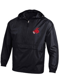 Central Missouri Mules Champion Packable Light Weight Jacket - Black