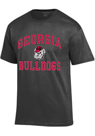 Georgia Bulldogs Champion Number One Design T Shirt - Charcoal