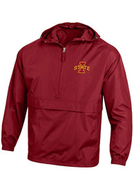 Iowa State Cyclones Champion Packable Light Weight Jacket - Cardinal