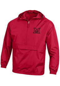 Miami RedHawks Champion Packable Light Weight Jacket - Red