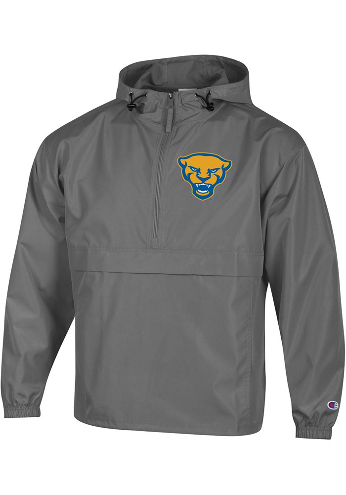 Champion Pitt Panthers Mens Grey Packable Light Weight Jacket - Image 1