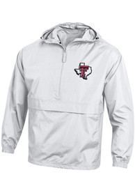 Texas Tech Red Raiders Champion Packable Light Weight Jacket - White