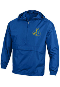 UMKC Roos Champion Packable Light Weight Jacket - Blue