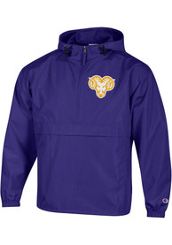 West Chester Golden Rams Champion Packable Light Weight Jacket - Purple
