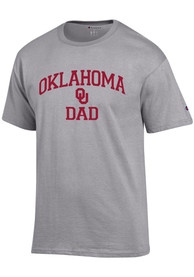 Oklahoma Sooners Champion Dad Graphic T Shirt - Grey