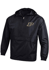 Purdue Boilermakers Champion Packable Light Weight Jacket - Black
