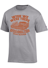 Texas Longhorns Champion Wish We Were There T Shirt - Grey