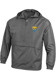Pitt Panthers Champion Panther Head Light Weight Jacket - Charcoal
