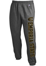 Emporia State Hornets Champion Powerblend Closed Bottom Sweatpants - Charcoal