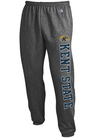 Kent State Golden Flashes Champion Powerblend Closed Bottom Sweatpants - Charcoal