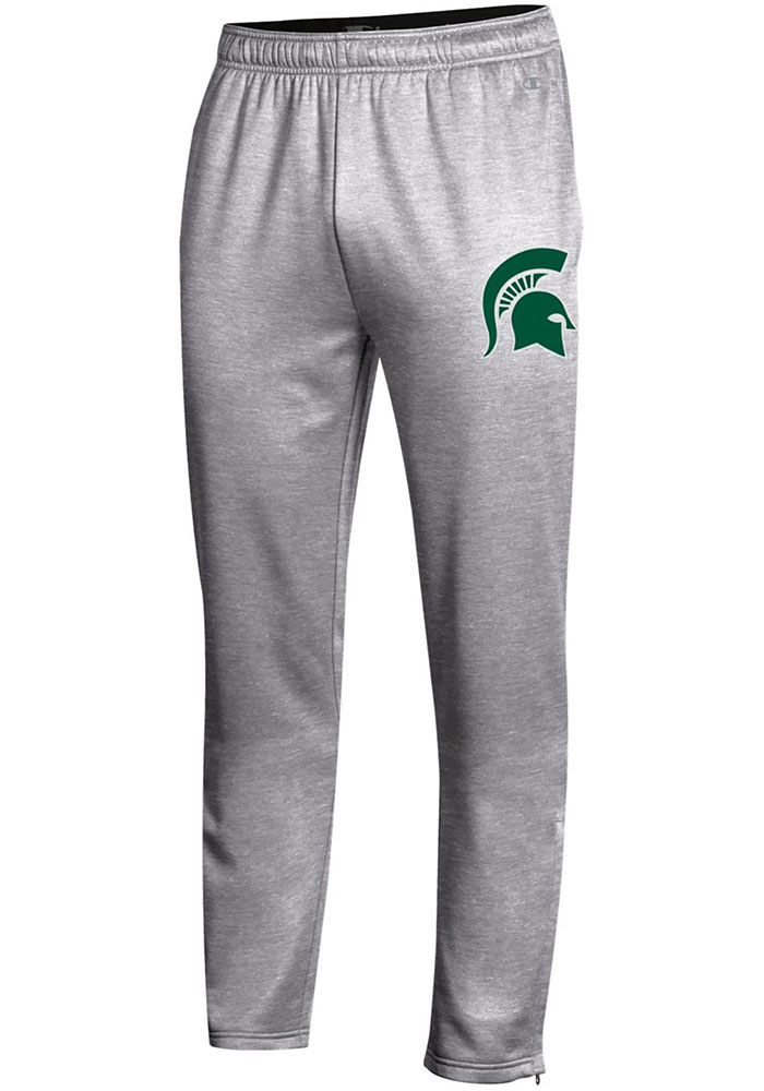 Champion Michigan State Spartans Mens Grey Field Day Fleece Pants - Image 1