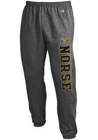 Northern Kentucky Norse Champion Powerblend Closed Bottom Sweatpants - Charcoal
