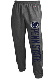 Penn State Nittany Lions Champion Powerblend Closed Bottom Sweatpants - Charcoal