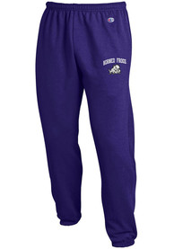 TCU Horned Frogs Champion Powerblend Closed Bottom Sweatpants - Purple