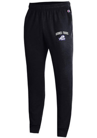 TCU Horned Frogs Champion Powerblend Jogger Sweatpants - Black