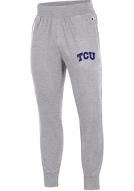 TCU Horned Frogs Champion Rochester Jogger Fashion Sweatpants - Grey