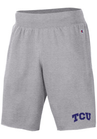 TCU Horned Frogs Champion Rochester Fleece Shorts - Grey
