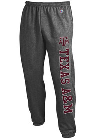 Texas A&M Aggies Champion Powerblend Closed Bottom Sweatpants - Charcoal