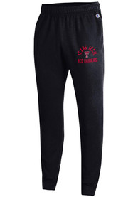 Texas Tech Red Raiders Champion Powerblend Jogger Sweatpants - Black