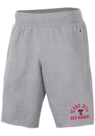 Texas Tech Red Raiders Champion Rochester Fleece Shorts - Grey