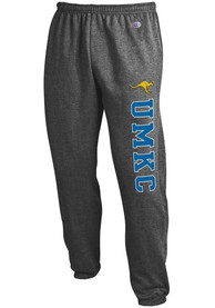 UMKC Roos Champion Powerblend Closed Bottom Sweatpants - Charcoal