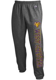 West Chester Golden Rams Champion Powerblend Closed Bottom Sweatpants - Charcoal