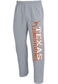 Texas Longhorns Champion Open Bottom Sweatpants - Grey