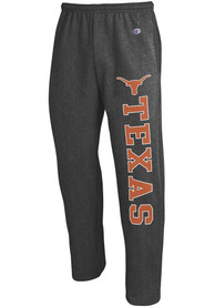 Texas Longhorns Champion Open Bottom Sweatpants - Charcoal