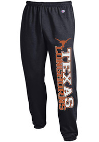 Texas Longhorns Champion Banded Bottom Sweatpants - Black