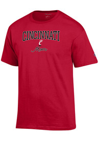 Cincinnati Bearcats Womens Champion Mom T-Shirt - Red