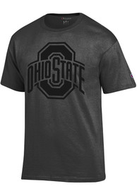 Ohio State Buckeyes Champion Tonal T Shirt - Charcoal
