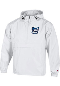 Creighton Bluejays Champion Packable Light Weight Jacket - White