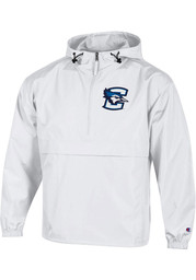 Champion Creighton Bluejays Mens White Packable Light Weight Jacket