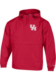 Houston Cougars Champion Packable Light Weight Jacket - Red