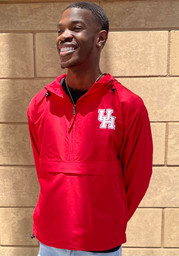 Champion Houston Cougars Mens Red Packable Light Weight Jacket
