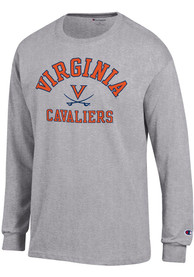 Virginia Cavaliers Champion Number One T Shirt - Grey
