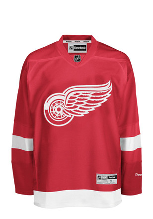 Detroit Red Wings Mens Red Center Ice Premire Jersey
