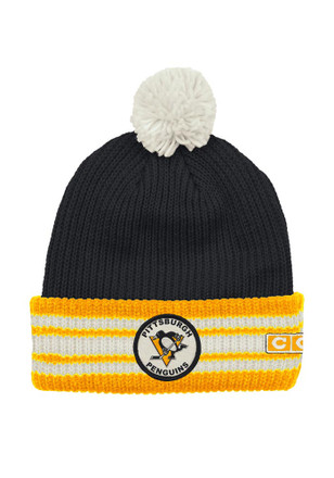 Pittsburgh Penguins Mens Blue CCM Cuffed Knit Hat