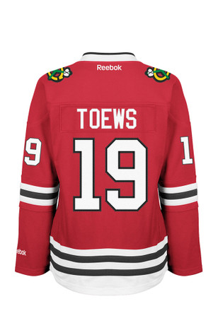 Jonathan Toews Reebok Chicago Blackhawks Womens Center Ice Premier Red Hockey Jersey