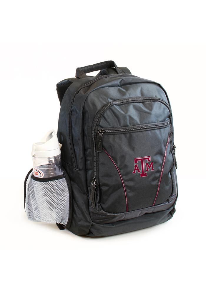 Texas A&M Aggies Black Stealth Backpack - Image 1