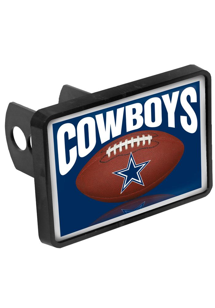 Dallas Cowboys Square Metal Car Accessory Hitch Cover