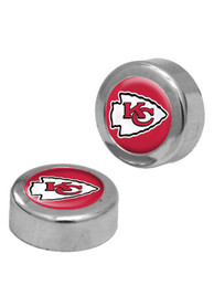 Kansas City Chiefs 2 Pack Auto Accessory Screw Cap Cover