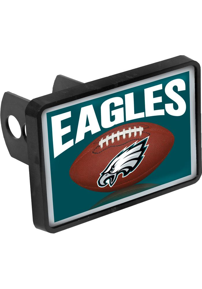Philadelphia Eagles Square Metal Car Accessory Hitch Cover - Image 1