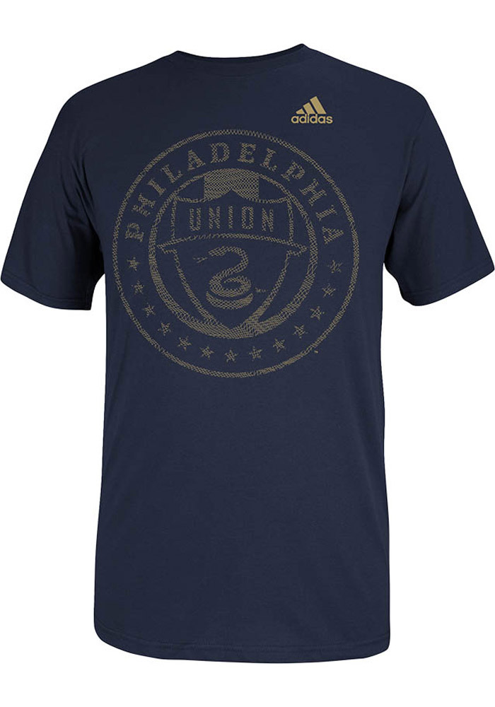 Adidas Philadelphia Union Navy Blue End of the Line Tee