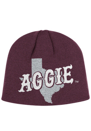 Adidas Texas A&M Aggies Maroon Localized Knit Hat