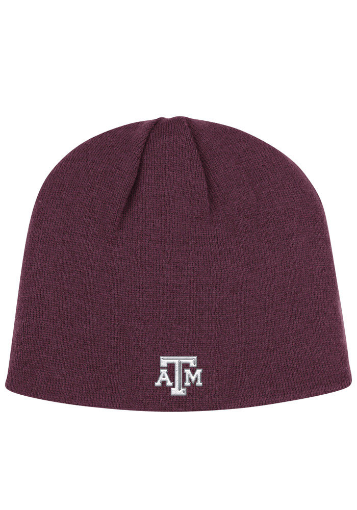 Adidas Texas A&M Aggies Maroon Localized Mens Knit Hat - Image 2