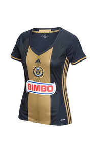 Adidas Philadelphia Union Juniors Primary Replica Navy Blue Soccer Jersey