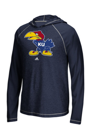 Adidas KU Jayhawks Mens Ultimate Performance Hood