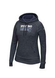 Adidas Sporting Kansas City Womens Navy Blue Hoodie